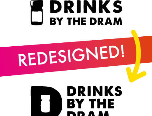 Identity Redesign – Drinks By The Dram