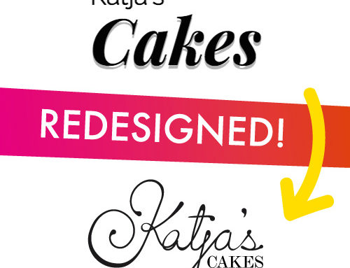 Identity Redesign – Katja's Cakes