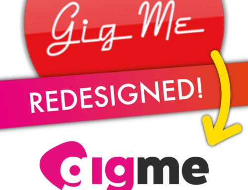 Logo Redesign – gigme live music promoter / discovery app